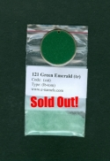 121 Green Emerald (tr)   Sold Out! - Product Image