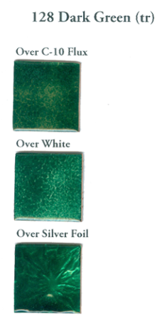 128 Dark Green (tr) - Product Image