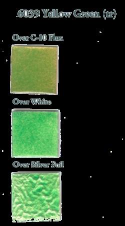 6039 Yellowish Green (tr) - Product Image