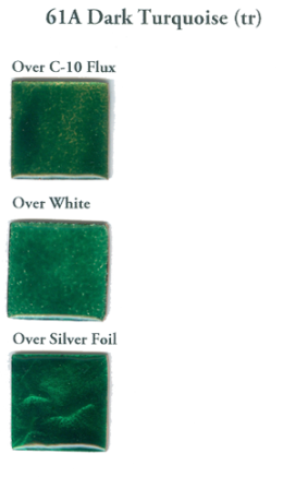 61A Dark Turquoise Green (tr) - Product Image