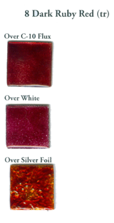 8 Dark Ruby Red (tr) - Product Image