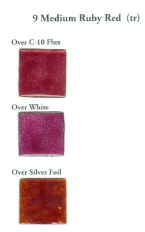 9 Medium Ruby Red (tr) - Product Image