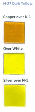 N-27 Dark Yellow (tr) - Product Image