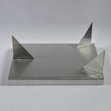 S080 Stainless Steel 3 Point Trivet (Lg)  - Product Image