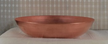 "Spun Copper Candy Dish ""Wide-Base"" Bowl - Product Image"