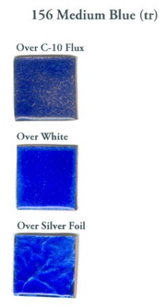156 Medium Blue (tr) - Product Image