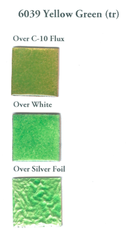 6039 Yellowish Green (tr) - Product Image