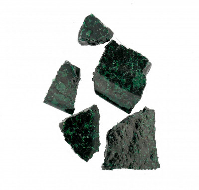 61A Dark Turquoise Green Schauer Lump (tr) - Product Image