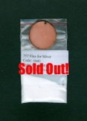 757 Flux for Silver (clear transparent)    - Product Image