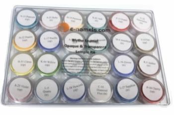 Blythe Enamel Assorted Transparent & Opaque Sample Kit - Product Image