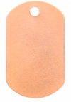 Copper Tag  - Product Image