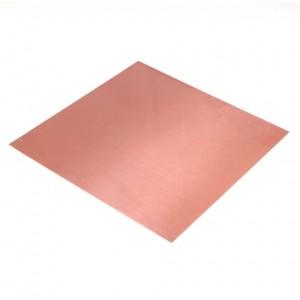 Custom Cut Copper Sheet  - Product Image