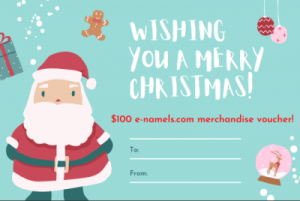 E-namels.com Gift Certificate - Product Image