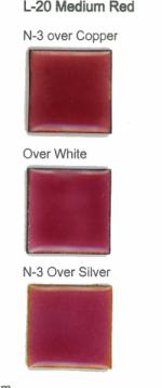 L-20 Medium Red (tr) - Product Image
