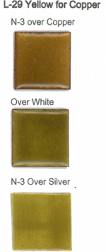 L-29 Yellow for Copper (tr) - Product Image