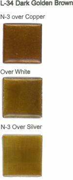 L-34 Dark Golden Brown (tr) - Product Image
