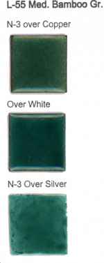 L-55 Medium Bamboo Green (tr)  1 ounce is available  - Product Image