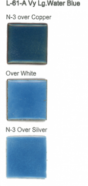 L-61-A Very Light Water Blue (tr) - Product Image