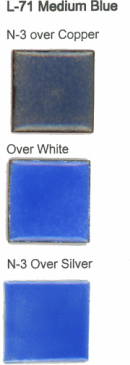 L-71 Medium Blue 1 (tr) 1 ounce is available  - Product Image
