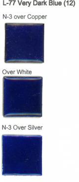 L-77 Very Dark Blue 12 (tr)  11 ounces are available  - Product Image
