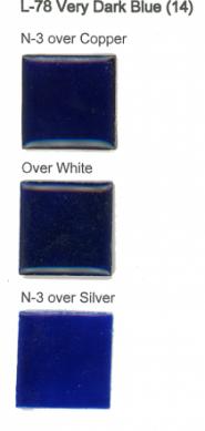 L-78 Very Dark Blue 14 (tr) - Product Image