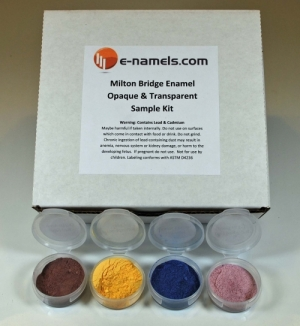Milton Bridge Enamel Assorted Transparent & Opaque Sample Kit - Product Image