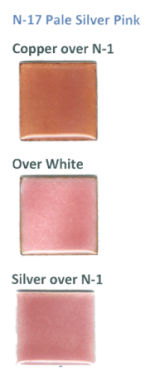 N-17 Pale Silver Pink (tr) - Product Image