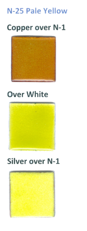 N-25 Pale Yellow (tr) - Product Image