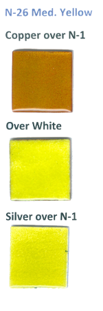 N-26 Medium Yellow (tr) - Product Image