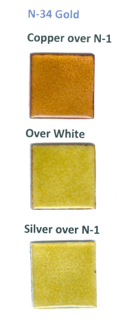 N-34 Gold (tr) - Product Image