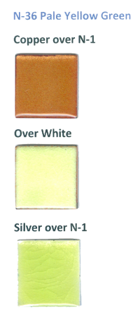 N-36 Pale Yellow Green (tr) - Product Image