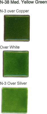 N-38 Medium Yellow Green (tr) - Product Image