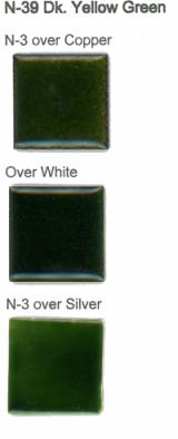 N-39 Dark Yellow Green (tr) - Product Image