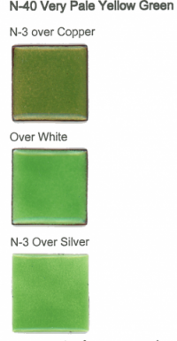 N-40 Very Pale Yellow Green (tr) - Product Image