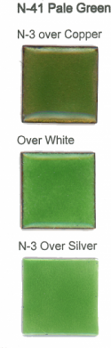 N-41 Pale Green (tr) permanently unavailable   - Product Image