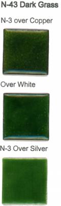 N-43 Dark Grass Green (tr) - Product Image