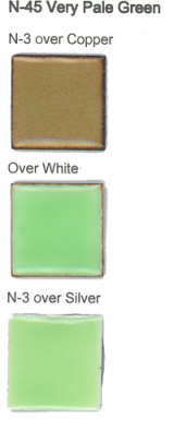 N-45 Very Pale Green (tr) permanently unavailable  - Product Image