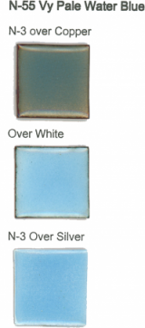 N-55 Very Pale Water Blue (tr) permanently unavailable - Product Image