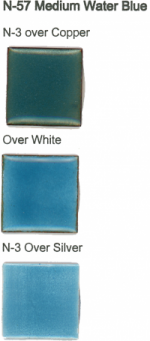 N-57 Medium Water Blue (tr) - Product Image