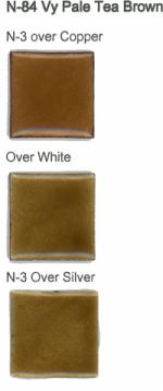 N-84 Very Pale Tea Brown (tr) - Product Image