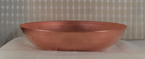 """Spun Copper Candy Dish """"Wide-Base"""" Bowl - Product Image"""