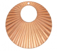 Textured Offset Circle - Product Image