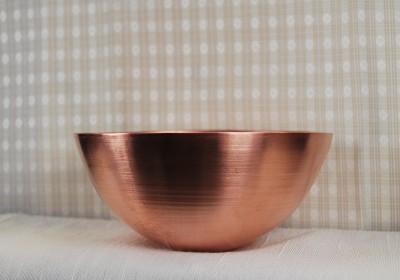 "Spun Copper ""Porridge"" Bowl (large)  - Product Image"