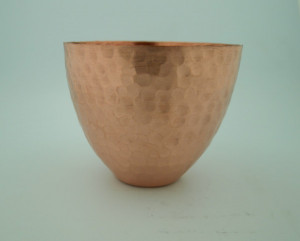 Thin Goblet Hammered - Product Image